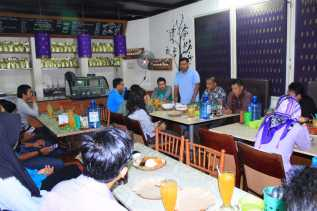Komit Sukseskan Program Pemko Pekanbaru, Camat Payung Sekaki Gandeng Media