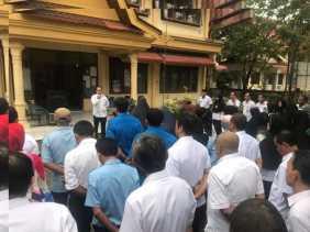 Abdul Barri Pimpin Apel Perdana Kecamatan Sukajadi