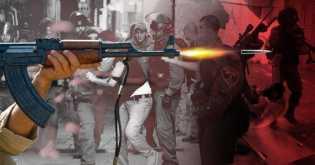 Adu Jotos, Pasukan Israel dengan Demonstran Palestina