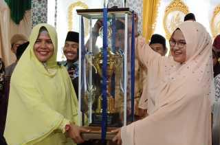 Umban Sari Raih Juara Umum MTQ Tingkat Kecamatan Rumbai