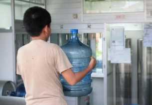 Diskes Pekanbaru Rutin Awasi Depot Air Isi Ulang