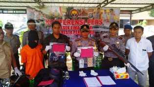 Bunuh mantan majikan diamankan Polresta Pekanbaru di Binjai Sumut