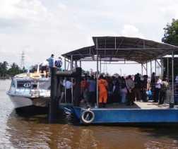 Lonjakan Penumpang di Sungai Duku tak Pengaruhi Harga Tiket