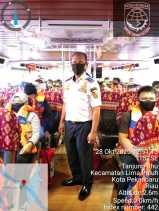 UPT Pelabuhan Sungai Duku Pekanbaru Pastikan Jalankan Protokol Kesehatan