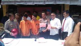 Dua Orang Pelaku Jambret Jalanan Dibekuk Polresta Pekanbaru