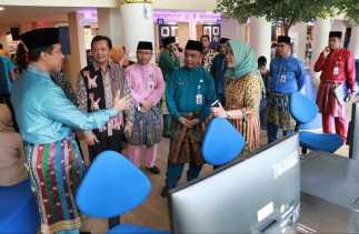 35 Pemda Jateng Belajar ke DPMPTSP Pekanbaru