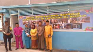 Pos Ronda Terintegrasi Kampung Baru di Lirik Kecamatan Tenayan Raya