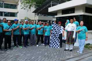 Plt Wali Kota Lepas Kegiatan GPN Fun Walk 2018 Bank Indonesia