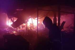 Dua Los di Pasar Kaponan Magelang Ludes Dilalap Api