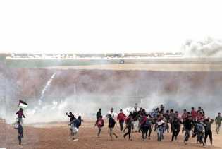 Aksi Protes Perbatasan, Pasukan Israel Lukai 25 Warga Palestina