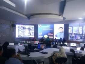 Belajar Operasikan Command Center, Pemkab Damasraya Sambangi Diskominfo Pekanbaru
