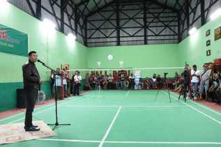 Wali Kota Berharap Pembinaan Olahraga Bulu Tangkis di Pekanbaru Lebih Maksimal