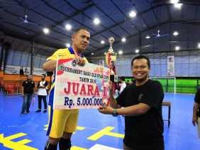 Ketua PSSI Meranti Sebut Turnamen Futsal Sago Old Star Sangat Bergengsi