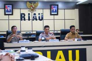 DPM-PTSP Ekspos MPP di Mapolda Riau