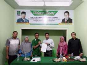Bawaslu Kota Pekanbaru kunjungi Partai Politik