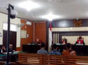 Korupsi Proyek RTH,  Kontraktor dan Tim PHO Divonis 1 Tahun 4 Bulan Penjara