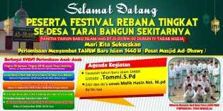 Jamaah Mesjid Ad Dhawy Gelar Event Akbar Dan Festival Rabana