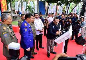 Menpan RB Syafrudiin Resmikan MPP Pekanbaru