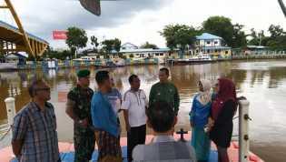 Aksi Bersih Sungai Siak, Kecamatan Senapelan Libatkan Elemen Masyarakat