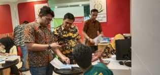Kasi Pidum Kejari Layani Masyarakat di Gerai Tilang MPP