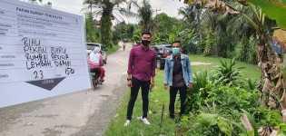 Kelurahan Lembah Damai Dukung Pembangunan PJU-TS