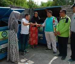 DLHK Pekanbaru Sudah Sebar 30 Tong Sampah Portable