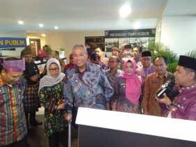 Rekomendasi KPK, Bupati Tanah Datar Belajar Operasikan MPP ke Pekanbaru