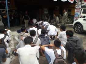 Bolos, 33 Pelajar Diamankan Petugas Satpol PP