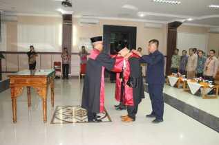 Dilantik, Khamozaro Waruwu Duduki Posisi Ketua PN Rantau Prapat
