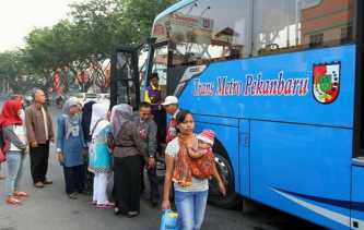 Pendapatan Bus TMP di 2018 Capai Rp13,7 Miliar