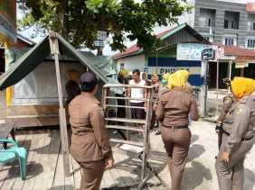 Berdiri Diatas DMJ, Puluhan Bangunan Liar di Garuda Sakti, Dibongkar