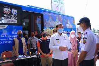Ini Lokasi Bus Vaksinasi Keliling di Pekanbaru Hari Ini