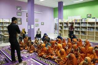 Kunjungan ke Perpustakaan Padat, Dispusip Koordinasi Jadwal Kunjungan Dengan IGTKI