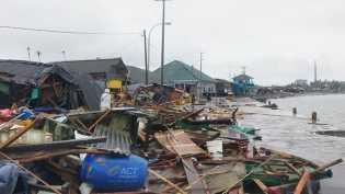 1.041 Orang Luka dan 431 Tewas Akibat Tsunami