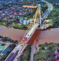 Gubri Ingin Jembatan Siak IV Diberi Nama Pendiri Nama Kota Pekanbaru