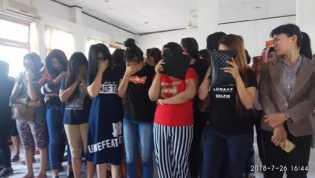 Razia Panti Pijat, Satpol PP Pekanbaru Amankan 47 Wanita dan Dua Pria