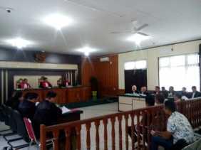 Pengadilan Tipikor Sidang Lima Terdakwa Korupsi Pembangunan Drainase Pekanbaru