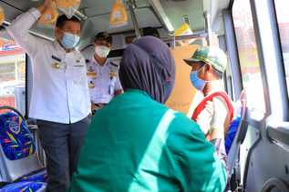 2.647 Masyarakat Pekanbaru Sudah Divaksin Lewat Bus Vaksinasi Keliling