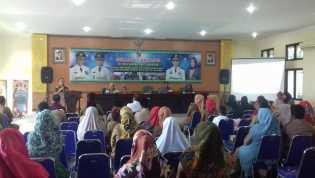 Nurhasminsyah Buka Sosialisai Percepatan Imunisasi MR di Kecamatan Tampan