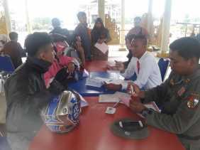 46 Warga Terjaring Razia KTP Tim Yustisi Didepan Purna MTQ Pekanbaru