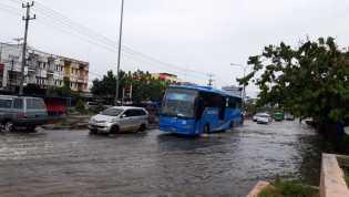 PUPR: Banjir di Pekanbaru Disebabkan Tersumbatnya Drainase