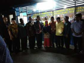 Wali Kota Lounching Pos Ronda Terintegrasi di Kelurahan Kampung Baru