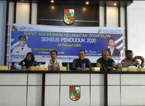 Sukseskan Sensus Penduduk, BPS Rakor Bersama Upika Senapelan