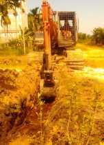 Atasi Banjir, Lurah Bambu Kuning Koordinasi dengan PUPR Keruk Anak Sungai