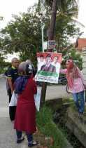 Langgar Estetika, Ratusan APK di 9  Kelurahan Rumbai Ditertibkan