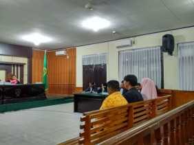 Korupsi RTH, Mantan Kadis PUPR Dihukum17 Bulan, Dua Rekanan Dihukum 20 Bulan dan 3 Tahun Penjara