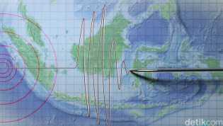 Gempa Magnitudo 4,7 di Sumbawa Barat