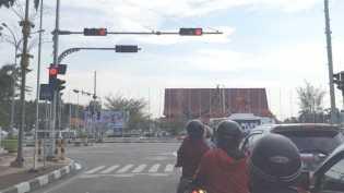 Pantau Pelanggaran Lalu Lintas, Dishub Pekanbaru Pasang CCTV