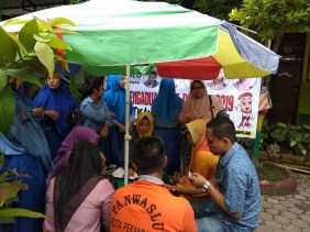 Gerakan AP-HPA Bawaslu Pekanbaru Pastikan Masyarakat Masuk DPT