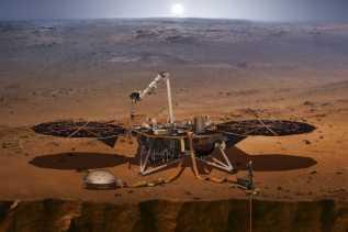 Penelitian, NASA Sukses Daratkan Robot InSight di Planet Mars